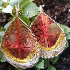 Jewelry - String Art Earrings